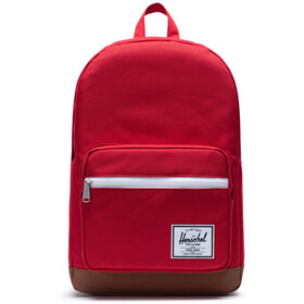 Herschel Pop Quiz Backpack red/saddle brown